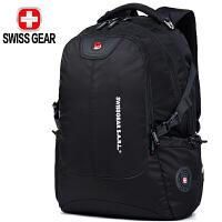 SWISSGEAR瑞士军刀双肩包 男士商务15.6/17.3英寸游戏笔记本电脑包大容量背包