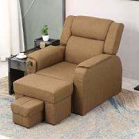 足疗沙发电动足浴沙发躺椅单人沐足店洗脚修脚按摩床美容美甲沙发