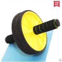加强承重耐磨防滑手把瘦身滚轮训练器静音双轮健腹轮健腹部运动健身器