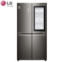 LG F678SB75B 671升大容量门中门透视窗变频多门冰箱 速冻恒温 过滤系统 风冷无霜