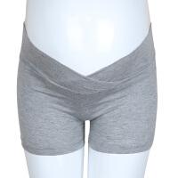 夏季打底裤女春装短裤夏装薄款孕妇安全裤低腰怀孕期托腹裤