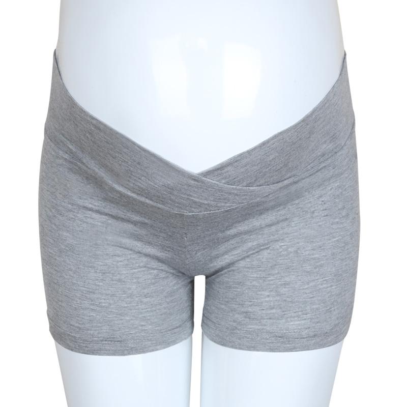 夏季打底裤女春装短裤夏装薄款孕妇安全裤低腰怀孕期托腹裤 全店支持7天无理由
