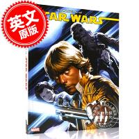 现货 星球大战 艺术设定画集 漫威漫画 英文原版 The Marvel Art of Star Wars 韩索罗 卢克