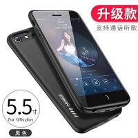 iphone6背�A充����O果7plus�池6s�S�8P超薄便�y手�C��_