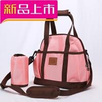 单肩多功能时尚妈咪包大容量斜跨手提孕妇妈妈手提背包