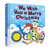 We Wish You A Merry Christmas 祝你圣诞快乐 音乐书 儿歌童谣