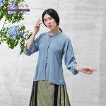 生活在左2019夏季新款女装文艺气质桑蚕丝上衣宽松衬衫真丝衬衣