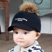 婴儿帽子春秋冬季儿童鸭舌帽宝宝棒球帽男女小孩帽潮