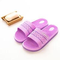 按摩拖鞋女夏天家居家浴室情侣拖鞋室内穴位按摩洗澡防滑拖鞋男女
