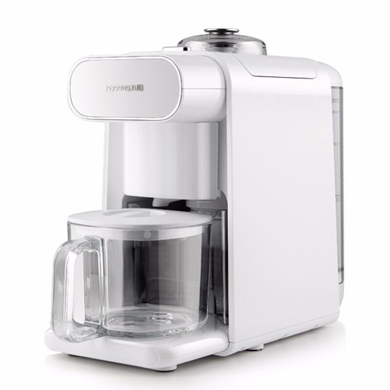 九阳豆浆机家用小容量Kmini米糊机破壁免洗果汁机预约K迷你咖啡机一人饮免清洗豆浆机 珍珠白