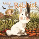 英文原版 抓兔子 Briony May Smith插画绘本 Grab that Rabbit!