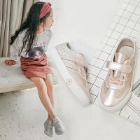 儿童小白鞋女童鞋宝宝休闲鞋幼儿园鞋子