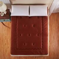 [当当自营]兰祺家纺床垫 三明治透气床垫 榻榻米凉垫子 熟褐色单人床120*200cm