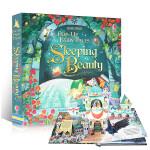 进口英文原版 睡美人立体书 Sleeping Beauty (Pop-up Fairy Tales) 纸板书 3-6岁