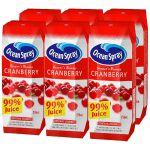 保税区直发 美国Ocean Spray优鲜沛蔓越莓复合果汁 250ml X 6瓶