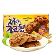 【当当自营】韩国进口 好丽友巧克力曲奇饼干612kcal 120g*3盒 软曲奇