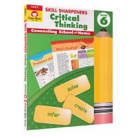 Evan-Moor Skill Sharpeners Critical Thinking Grade 6 小学六年级批