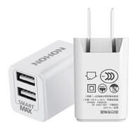苹果6/7充电器头多口USB安卓手机oppo华为小米通用插头 白色【2.4A双USB智能变频充电头】