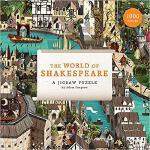 【预订】The World of Shakespeare: 1000 Piece Jigsaw Puzzle 9781