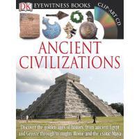英文原版 DK古代文明 儿童百科 精装 DK Eyewitness Books: Ancient Civilizatio