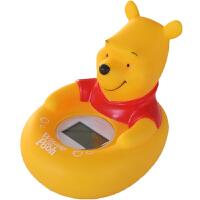 迪士尼 多功能电子水温计 维尼熊洗澡玩具(婴幼儿童宝宝沐浴戏水玩具 室内温度计 三色背光)SWL-627