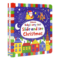 Usborne Baby's Very First Slide and See Christmas 宝宝本圣诞书 假日