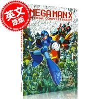 现货 洛克人X 官方作品全集 游戏艺术画册原画设计设定集 英文原版 Mega Man X: Official Comp