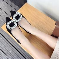 大红色高跟鞋女婚鞋4-6厘米水钻带钻单鞋女士宴会公主性感韩版6cm 黑色4厘米 标准码