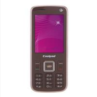 酷派(Coolpad)S126 3G手机(咖啡色)CDMA2000/CDMA 电信定制