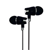 BaaN R1动圈入耳式3.5接口有线音乐耳机 黑色