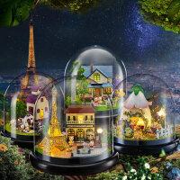 智趣屋diy小屋手工小房子别墅模型玩具创意音乐盒生日礼物送女友