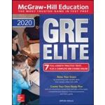 英文原版 麦格劳-希尔2020年GRE精英 McGraw-Hill Education GRE Elite 2020