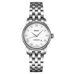 美度 MIDO-贝伦赛丽系列 M7600.4.26.1 机械女士手表【好礼万表 礼品卡可购】