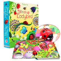 【�M300-150】七星瓢�x 扭�影l�l�道�� 英文原版windup Wind-up Ladybird 七星瓢�x 扭�影l�l