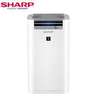 夏普(Sharp)空气净化器 KC-WG30-W 家用 PM2.5数显 除尘 除甲醛 净离子除菌 净化器