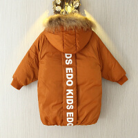 男童冬装棉衣冬季5岁男孩宝宝棉袄中长款