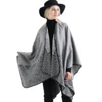 【保暖大披肩】茉蒂菲莉 大披肩女 保暖仿羊绒时尚大披肩冬季欧美时尚热卖女士大披肩
