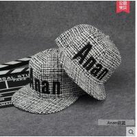 版街舞街头潮嘻哈帽情侣棒球帽防春夏帽子男士遮阳帽韩晒帽平沿帽 可礼品卡支付