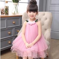 儿童纱裙蓬蓬裙子童装女童吊带连衣裙新款夏韩版潮宝宝公主裙