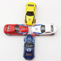 迷你仿真合金车模宝马Z4保时捷911汽车模型儿童玩具车礼品