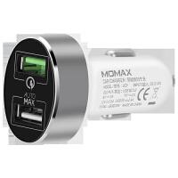 充电器 车载充电器快充版QC3.0手机双USB一拖二汽车点烟器头车充快充插头多功能车充2.4v5a