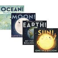 Our Universe 宇宙元素的自白4册套装 儿童科普绘本 英语学习 亲子百科读物 儿童科学启蒙 自然科学知识 英文