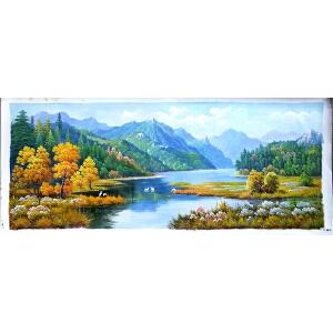 风景油画作品 C242