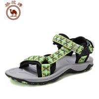 【每满100减50】骆驼牌户外沙滩鞋 女款 春夏季新款沙滩凉鞋 透气防滑耐磨