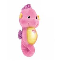 [当当自营]Fisher Price 费雪 声光安抚海马-粉色 婴儿玩具 DGH83