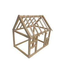 diy小屋女孩模型手工制作拼装创意房子别墅玩具迷你木屋成人礼物