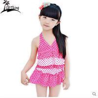 新款女童泳衣中大童分体套装宝宝儿童泳衣学生公主裙式婴幼儿可爱可礼品卡支付