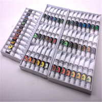 马利Marie's 12ml盒装丙烯画颜料 马利丙烯颜料 12色/18色/24色/36色丙烯画颜料 手绘丙烯 DIY手绘