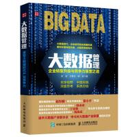 大数据管理企业转型升级与竞争力重塑之道 企业管理书籍