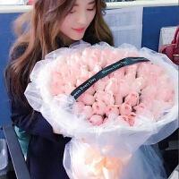 七夕节鲜花七夕情人节速递99朵玫瑰花束生日礼盒天津同城北京上海广州送